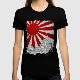 Japanese Palace and Sun T-shirt
