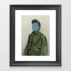 major blue Framed Art Print