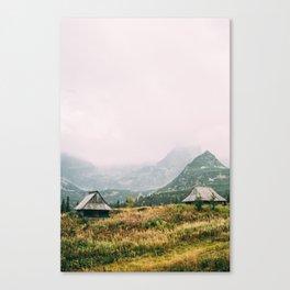 Hala Gasienicowa Autumn Canvas Print