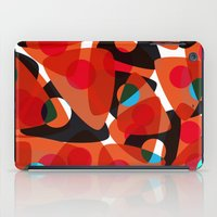 70s iPad Cases featuring orange 70s by Matthias Hennig