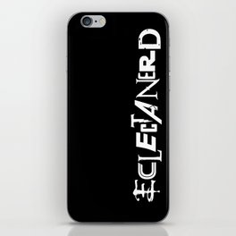 Eclectanerd iPhone Skin