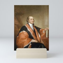 Chief Justice John Jay Portrait - By Gilbert Stuart Mini Art Print
