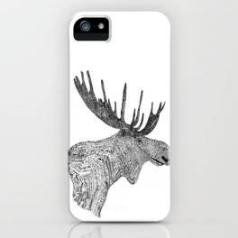 Maud the Moose iPhone Case