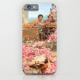 The Roses of Heliogabalus by Sir Lawrence Alma-Tadema iPhone Case