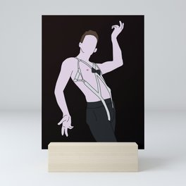 Emcee From Cabaret Mini Art Print