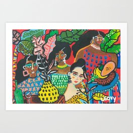 Brunch Art Print