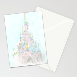 Castle of Sleeping beauty Stationery Cards
