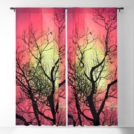 Red Sky At Dawn Blackout Curtain