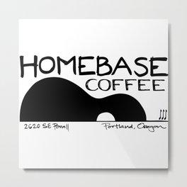 Homebase Coffee Metal Print