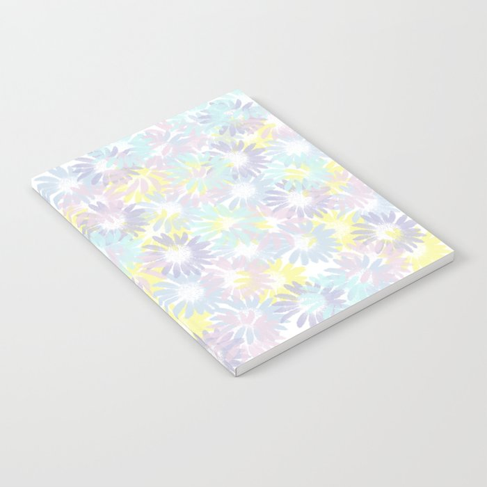 Painterly Pastel Spring Garden Abstract Notebook