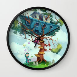 Ship house Wall Clock