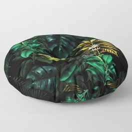 TROPICAL GARDEN VIII Floor Pillow