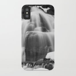 Winter Arch Waterfall iPhone Case