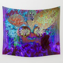 Release of Solar Light Wall Tapestry