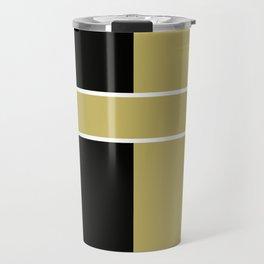 Team Color 6...black,gold Travel Mug