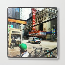 Chicago Color Metal Print