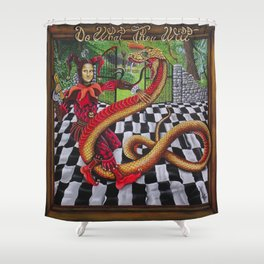 Do What Thou Wilt Shower Curtain