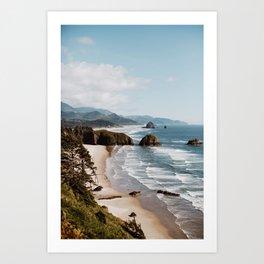 Oregon Coast Cannon Beach Art Print