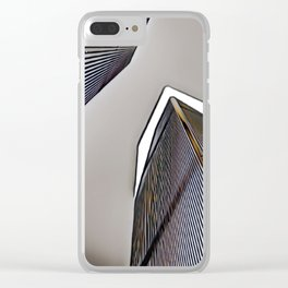 Twin Towers - 9/07/01 - Graphic 1 Clear iPhone Case