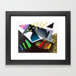 Composition 554 Framed Art Print