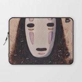 No Face - Spirited Away with Soot sprites (Susuwatari) Laptop Sleeve