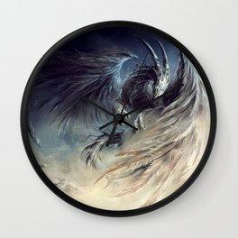 The Guardian of Dream - Art by Élian Black'Mor Wall Clock