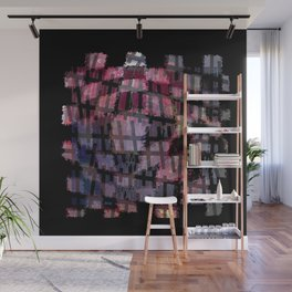 Line and Square Wall Mural