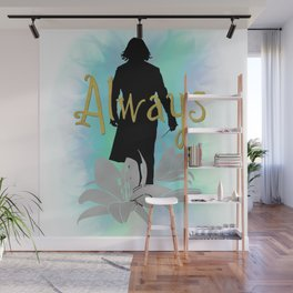 Always: Severus with lilies Wall Mural