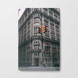 Streets of New York City Metal Print