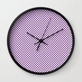 Seance Polka Dots Wall Clock