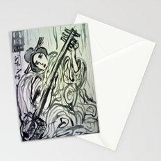 GEISHA MUSICIAN Stationery Cards