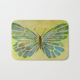 Butterfly 1 by Saribelle Rodriguez Bath Mat