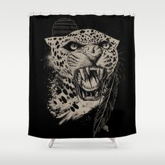 Jaguar Sun Shower Curtain