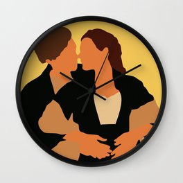 Jack and Rose movie Wall Clock
