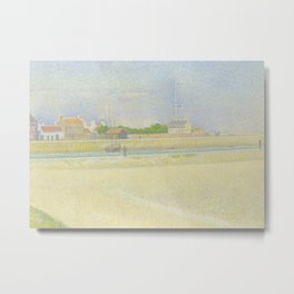 The Channel of Gravelines, Grand Fort-Philippe Metal Print