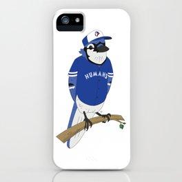 Go Humans Go! iPhone Case