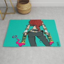 Color - Pirate Love Rug