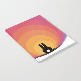 Bunny Rabbit Sunrise Notebook