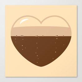 Brew Love - Stout Canvas Print