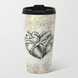Ancient heart Metal Travel Mug