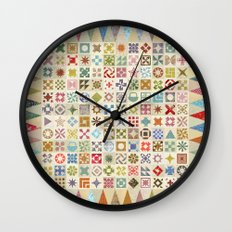 Jane's Addiction to Quilting Wall Clock