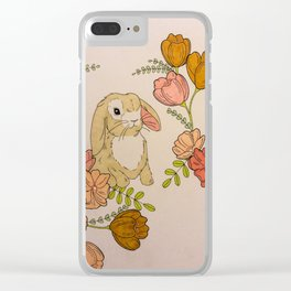 Till the End and back Clear iPhone Case