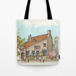 Magic House In Blerick Tote Bag