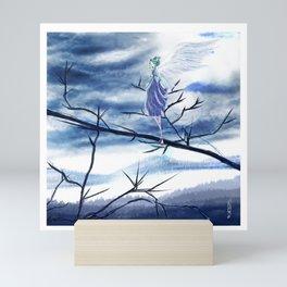 Silver Moon W Mini Art Print