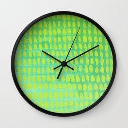 Strange Tiny Footprints Wall Clock