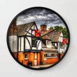 The Cross Keys Pub Wall Clock