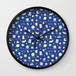 Cute Space! Wall Clock