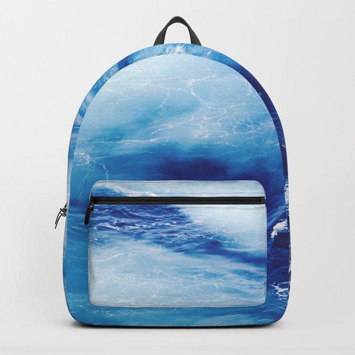 Blue Waves of Glory Backpack