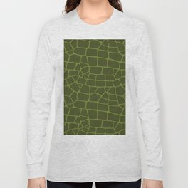 Reptile Seamless Pattern Long Sleeve T-shirt
