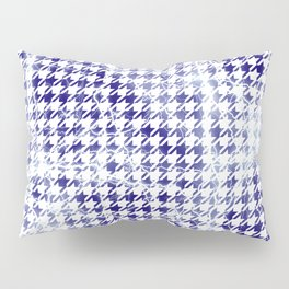 Houndstooth Electrical Lightning Sparks Pattern Pillow Sham
